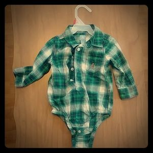 Baby Gap shirt-onesie